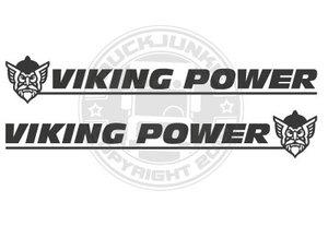 VIKVING POWER -NEW- SIDE WINDOW STICKER