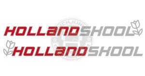 HOLLANDSKOOL - TWO-COLORED STICKER