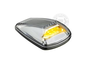 LED TOPLIGHT / MARKER LAMP - 9-32V - CLEAR GLASS