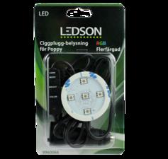 LEDSON - POPPY LED - RGB - CIGARETTE PLUG - 12-30V