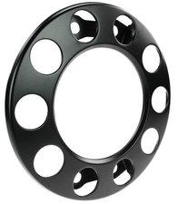 WHEEL RING - STEEL RIM- 10 HOLE OPEN - BLACK