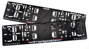 TRUCKJUNKIE TRUCKSHOP HOLLAND - FLAGS - LICENSE PLATE HOLDER