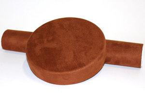ALCANTARA - SELF ADHESIVE  - CHOCOLATE