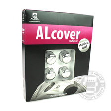 Alcover - Alcoa® STAINLESS STEEL WHEEL NUT COVERS - 33 MM