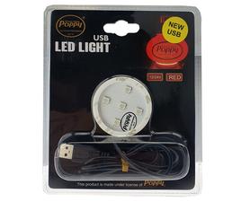 POPPY LED - RED - USB - 12-24V