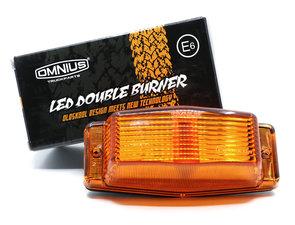 ORANGE - LED DOUBLE BURNER - OMNIUS