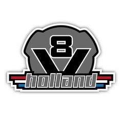 V8 HOLLAND - FULL PRINT STICKER