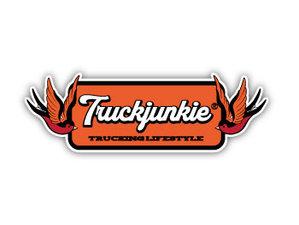 TRUCKJUNKIE SWALLOWS - FULL PRINT STICKER