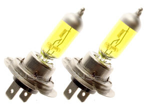 H7 - YELLOW - 24V - 70W - 2 PCS