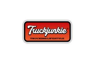 TRUCKJUNKIE - TL ORANGE - FULL PRINT STICKER