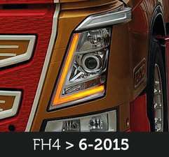 UNTILL 2015 - CONVERSION KIT DLR AMBER - SUITABLE FOR VOLVO FH4