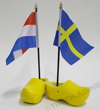 DOUBLE - COUNTRY FLAG - CLOG 14CM