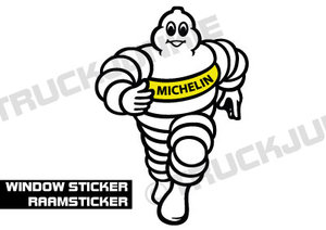 WINDOW STICKER - MICHELIN
