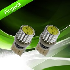 W5W / T10 - XENON WHITE - HIGH POWER LED 10-30V