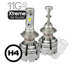 LEDSON LED HEADLIGHT SET - 11G Xtreme FOR TRUCKS - H4