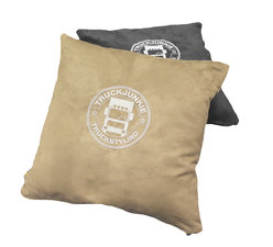 PILLOW EMBROIDERED - TRUCKJUNKIE