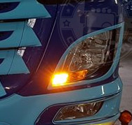 CONVERSION KIT DRL AMBER - SUITABLE FOR DAF EURO 6