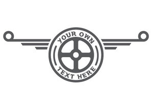DAF - LOGO WITH YOUR OWN TEXT