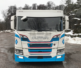 BOW STYLE - XXL SUN VISOR 35CM - SUITABLE FOR SCANIA R & S NEXT GENERATION