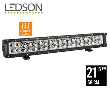 """LEDSON - HELIOS - 21.5"""" LED BAR (58CM) 120W HEATED LENS"""